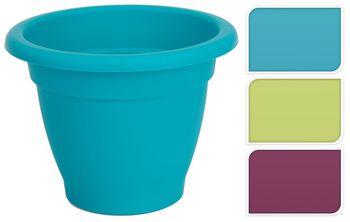 Горшок для цветов пластиковый D30cm, H19cm