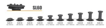 Система опора для фальшпола, основание нивелир SL60-05 (112-140mm)