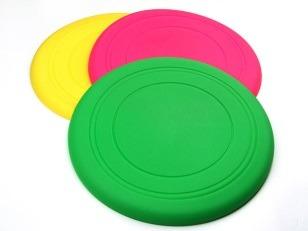 купить Летающая тарелка, резиновая, d18cm, разные цвета в Кишинёве