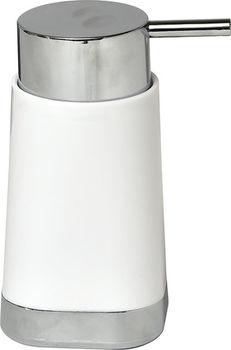 Диспенсер для жидкого мыла Tendance хромир база, бел