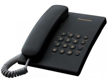 Telephone Panasonic KX-TS2350UAB, Black (telefon cu fir/проводной телефон)