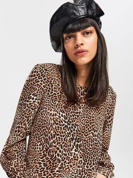 Блуза RESERVED Принт леопард
