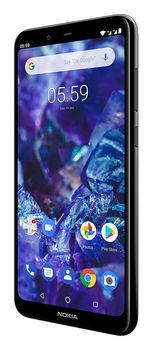 купить Nokia 5.1 Plus (3+32Gb) Dual sim,Black в Кишинёве