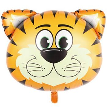 купить Фольгированная фигура голова Тигр в Кишинёве