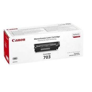 Laser Cartridge Canon 703 (HP Q2612A), black (2500 pages) for LBP-2900/3000, HP LJ10xx