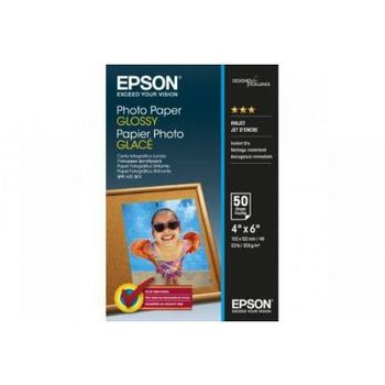 Epson  Glossy Photo paper 10x15cm,  225g/m2, 50 sheets