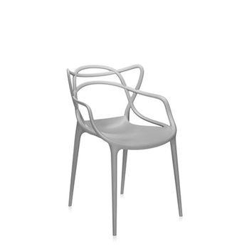 купить Пластиковый стул,  серый в Кишинёве
