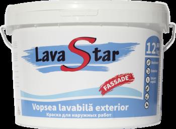 купить Краска водоэмульсионная фасадная LavaStar 12,6 кг в Кишинёве