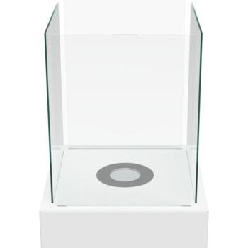 Биокамин - TANGO 4 белый настольный/напольный