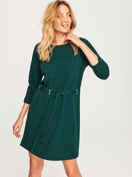 Платье RESERVED Темно зеленый tq155-67x