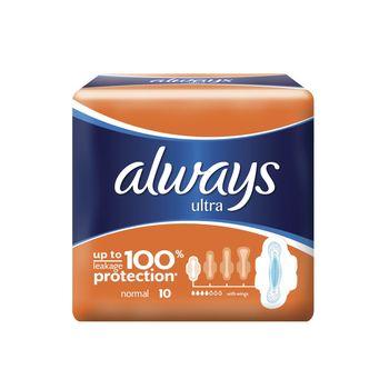 купить Always прокладки Ultra Normal, 10 шт. в Кишинёве