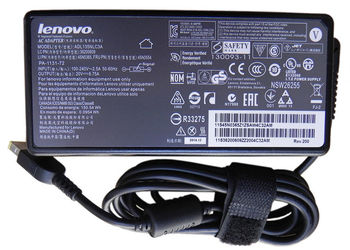AC Adapter Charger For Lenovo 20V-6.75A (135W) Square DC Jack Original