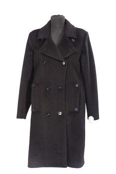 купить Пальто женское прямого силуэта, двубортное в Кишинёве