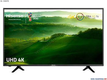 "купить ""43"""" LED TV Hisense H43N5300, Black (3840x2160 UHD, SMART TV, PCI 1000Hz, DVB-T/T2/C/S2) (43'' DLED 3840x2160 UHD, PCI 1000 Hz, SMART TV (VIDAA Lite 2 OS), 3 HDMI 2.0, 2 USB (foto, audio, video), Display color depth 8bit+FRC, HEVC (H.265),VP9,H.264,MPEG4, MPEG2,VC1,MVC, Wi-Fi (802.11ac, dual-band (2.4G and 5G), DVB-T/T2/C/S2, OSD Language: ENG, RU, Speakers 2x7W Dolby Audio, 9.9 Kg)"" в Кишинёве"
