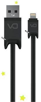 купить DA Lightning cable, DT0011A, Black в Кишинёве