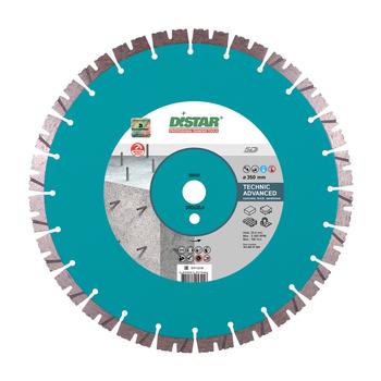 купить Диск алмазный отрезной Distar 1A1RSS/C3-H 350x3,5/2,5x15x25,4-(11,5)-24 Technic Advanced в Кишинёве