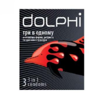 cumpără Dolphi 3 in 1, 3 prezervative în Chișinău