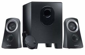 Logitech Z313 Speaker System 2.1 (RMS 25W, 15W subwoofer, 2x5W), Black