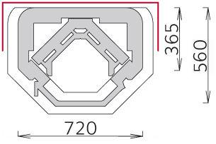 Печь-камин - Tulikivi TU1030/5D