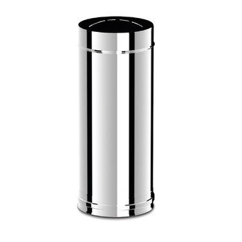 Ø150 Труба дымоходная 500 mm (inox 304)