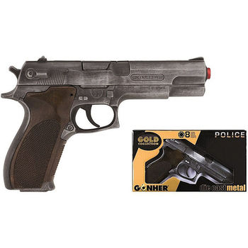 Пистолет полицейский (8 зарядный), код 43544