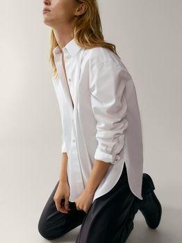 Блуза Massimo Dutti Белый 5111/548/250
