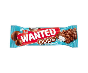 ETI Wanted Pops Coconut, 28 г.