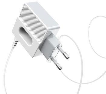 Зарядное устройство Hoco C75 Imperious dual port charger (Micro) White