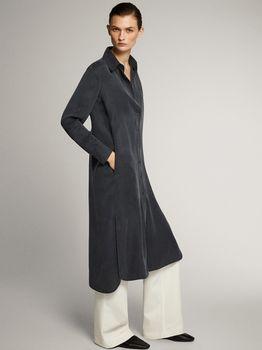 Платье Massimo Dutti Серый 6632/530/818