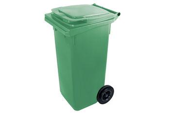 Мусорный бак Plastic G green 120 л
