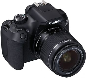купить DC Canon EOS 1300D + EF-S18-55 IS II в Кишинёве