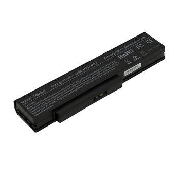 Battery Fujitsu Amilo Li3710 Li3910 Li3560 Pi3560 Pi3660 SQU-809-F01 SQU-808-F01 SQU-809-F02 SQU-808-F02 10.8V 5200mAh Black