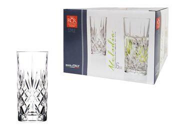 Набор стаканов для напитков Melodia 6шт, 360ml