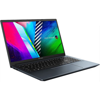 "Laptop 15.6"" ASUS VivoBook Pro 15 OLED K3500PC, Intel i5-11300H 3.1-4.4GHz/16GB/SSD 512GB/GeForce RTX3050 4GB GDDR6/WiFi 6 802.11ax/BT5.0/USB Type C/HDMI/HD WebCam/Illuminated Keyb./FP/15.6"" FHD OLED NanoEdge (1920x1080)/No OS K3500PC-L1085"