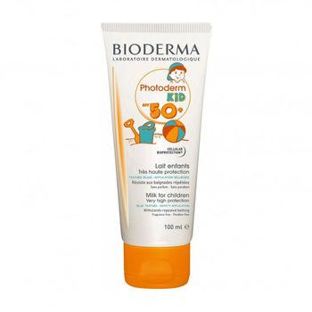 купить Молочко солнцезащитное Bioderma Photoderm Kids SPF50+ 100 мл в Кишинёве