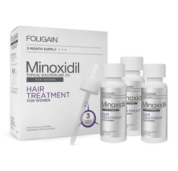 купить Foligain 2% Minoxidil Women Solution 3 Month Supply в Кишинёве
