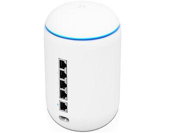 Ubiquiti UniFi Dream Machine, One Device Combining Wi-Fi AP, 4-Port Gigabit Switch and Security Gateway, 802.11ac Wave 2, 4x4 MU-MIMO Technology, Dual Band 2.4GHz/5Ghz, Quad-Core 1.7GHz, 2GB RAM, 16GB Flash, IDS/IPS Throughput 850 Mbps