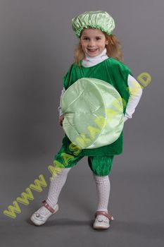 Карнавальный костюм: Капуста