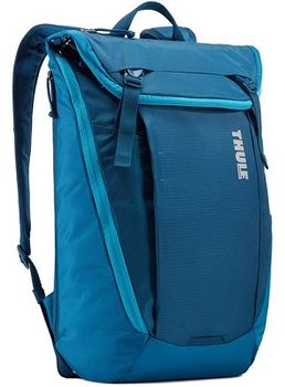 "14-15"" NB Backpack - THULE EnRoute 20L, Poseidon, Safe-zone, 840D nylon, 330D nylon mini ripstop, Dimensions: 30 x 21 x 45.5 cm, Weight 0.88 kg, Volume 20L"