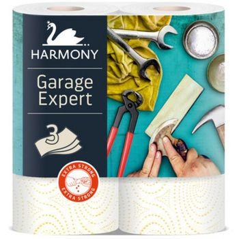Полотенца бумажные Harmony Garage Expert 3 слоя 16.5м*2