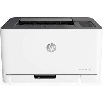 Printer HP Color LaserJet 150a, White, Up to 18ppm b/w, Up to 4ppm color, 600x600 dpi, Up to 20000 p., 64MB RAM, indicator,  PCL 5c/6, Postscript 3, USB 2.0,Blue Angel DE-UZ 205 (HP 117A/X Bl/C/Y/M)