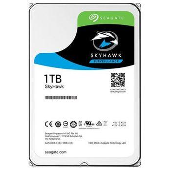 "3.5"" HDD 1.0TB  Seagate ST1000VX005  SkyHawk™ Surveillance, 5900rpm, 64MB, SATAIII"