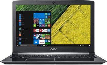"""ACER Aspire A515-51G Obsidian Black (NX.GT0EU.009) 15.6"""" FullHD (Intel® Quad Core™ i5-8250U 1.60-3.40GHz (Kaby Lake R), 8Gb DDR4 RAM, 128Gb SSD / 1.0TB HHD, GeForce® MX150 2Gb DDR5, w/o DVD, WiFi-AC/BT, 4cell, 720P HD Webcam, RUS, Linux, 2.2kg)"""