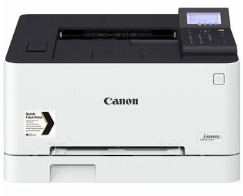 Printer Color Canon i-Sensys LBP-623Cdw, Net, Wi-Fi,  A4, 21ppm, d/s 12.7 ipm, 1GB, 1200x1200dpi,  250+50 sheet tray, 5 Line LCD, UFRII, Max. 30k pages per month, Cart 054HBK/054 (3100/1500pages ) & 054HC/M/Y/054C/M/Y (2300/1200 pages )
