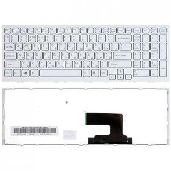 Keyboard Sony VPCEB w/frame ENG. White