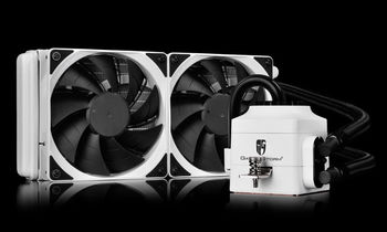 """купить DEEPCOOL Liquid Cooler """"CAPTAIN 240 EX WHITE"""", Socket 775/1150/1151/2011 & AM4/FM2/AM3 в Кишинёве"""