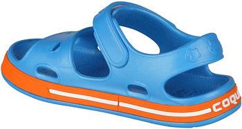 купить Тапочки COQUI 8852 Sea blue/Dk. orange в Кишинёве