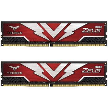32GB DDR4 Dual-Channel Kit Team Group T-Force Zeus TTZD432G3200HC20DC01 32GB (2x16GB) DDR4 PC4-25600 3200MHz CL20, Retail (memorie/память)