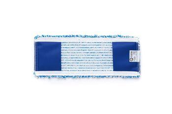 Bucle - Моп плоский микрофибра  синий 40х15 см, карманы