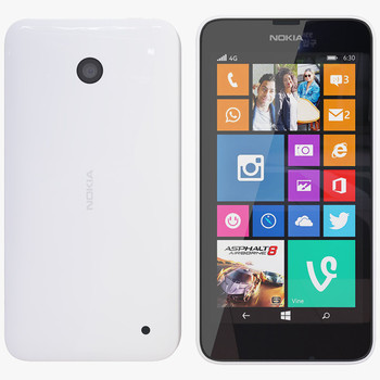 Nokia Lumia 635, White